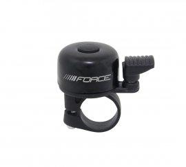 Zvonček FORCE MINI Fe/plast 22,2mm paličkový, čierny