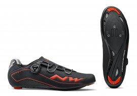 Tretry NORTHWAVE Flash, black/lobster orange