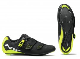 Tretry NORTHWAVE Phantom 2 SRS, black/yellow fluo