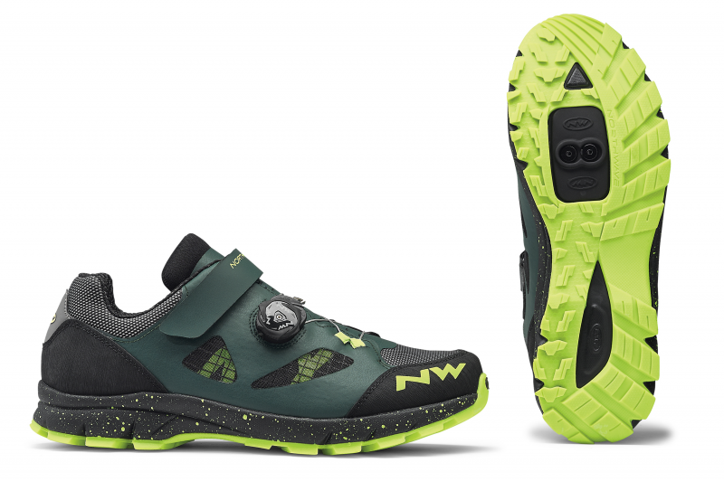 Tretry NORTHWAVE Terrea Plus, green gables/yellow fluo