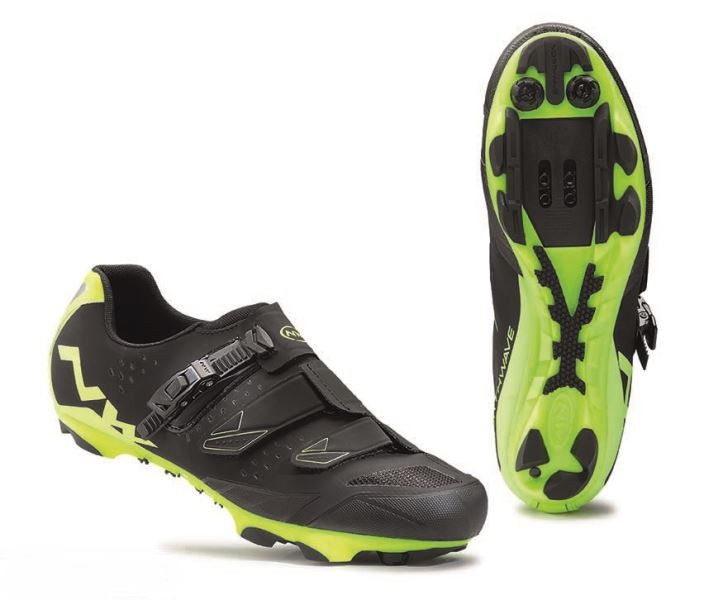 Tretry NORTHWAVE Scream SRS, black/yellow fluo