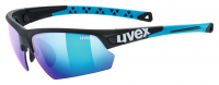 UVEX sportstyle 224, black mat blue, (S3)