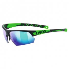 Okuliare UVEX SPORTSTYLE 224, black mat green