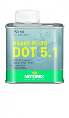 Olej MOTOREX BRAKEFLUID DOT 5.1, 250ml
