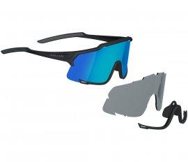 Slnečné okuliare KELLYS DICE PHOTOCHROMIC, Shiny Black Monochrom