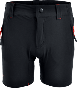 Detské MTB nohavice SILVINI ARVO CP813, black red