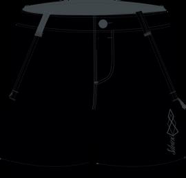 Nohavice SILVINI CIANE WP1215, black