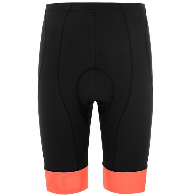 8a5c10b006677 Cyklistické nohavice BRIKO CLASSIC SHORT, black-orange flame