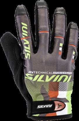 Dámske cyklistické rukavice SILVINI TEAM WA851, green