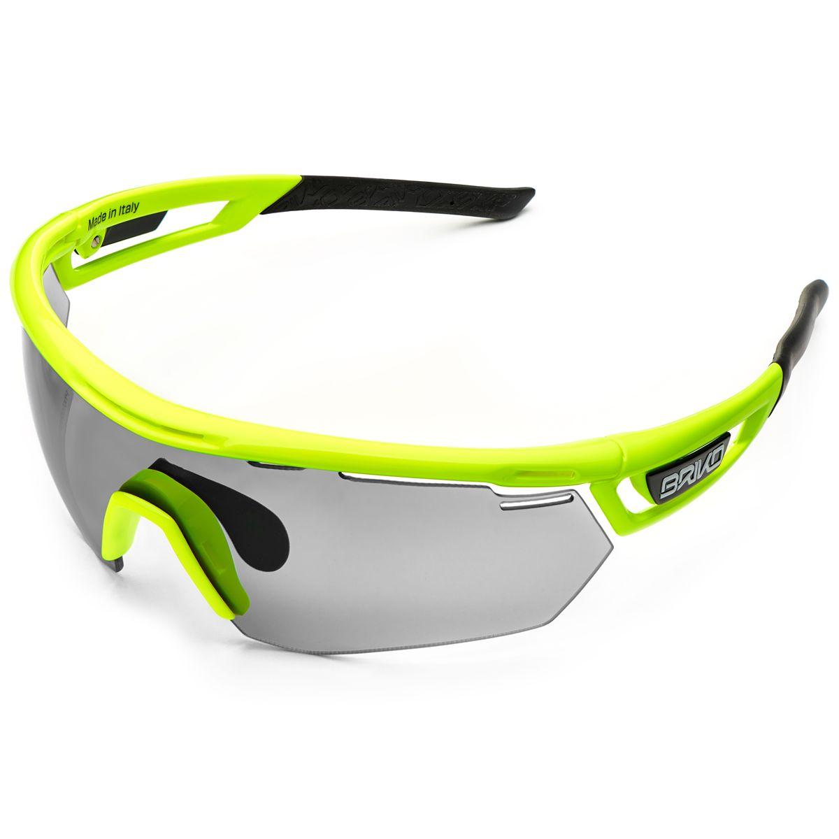 7881705e5 Slnečné okuliare BRIKO CYCLOPE PHOTO, fluo yellow | kubicasport.eu