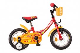 "Bicykel DEMA FUNNY, 12"", red"