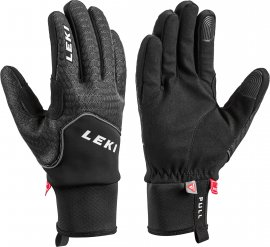 LEKI Nordic Thermo, black-charcoal