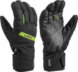 LEKI Space GTX, black-lime