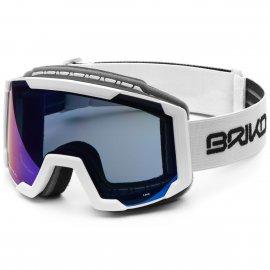Lyžiarske okuliare BRIKO LAVA, white