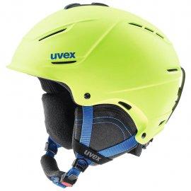 Lyžiarska prilba UVEX P1Us 2.0, lime mat