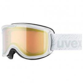 Lyžiarske okuliare UVEX Skyper LM, white litemirror gold, (S2)