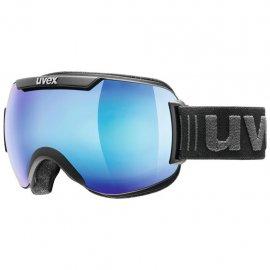 Lyžiarske okuliare UVEX Downhill 2000, FM black mat mirror blue, (S2)