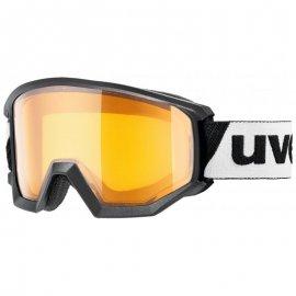 Lyžiarske okuliare UVEX Athletic LGL, black lasergoldlite, (S1)