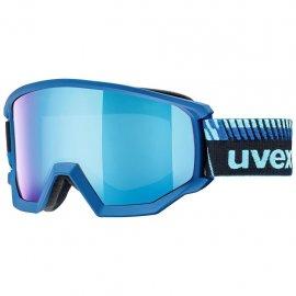 Lyžiarske okuliare UVEX Athletic FM, cobalt mat mirror blue, (S3)