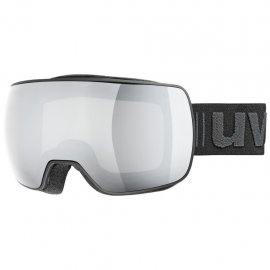 Lyžiarske okuliare UVEX Compact LM, black mat litemirror silver, (S2)