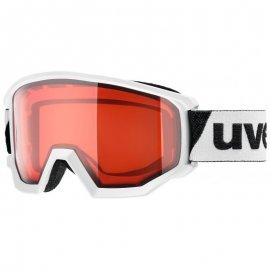 Lyžiarske okuliare UVEX Athletic LGL, white lasergoldlite rose, (S2)