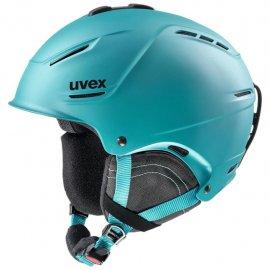Lyžiarska prilba UVEX P1Us 2.0, petrol mat