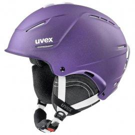 Lyžiarska prilba UVEX P1Us 2.0, deep violet met mat