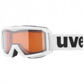 Lyžiarske okuliare UVEX Flizz, white lasergold, (S2)