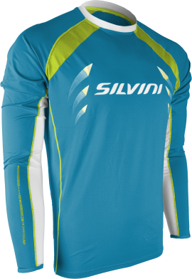 MTB dres SILVINI RENO MD609, lake-lime