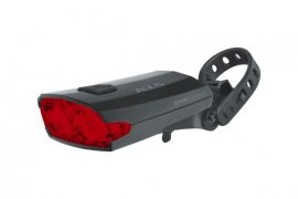 Osvetlenie zadné nabíjateľné KLS INDEX 016 R, black