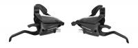 Radenie Shimano STEF5002, 3x7, pre V brzdy, čierne, (ľavé+pravé)