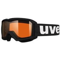 Lyžiarske okuliare UVEX flizz LG black mat