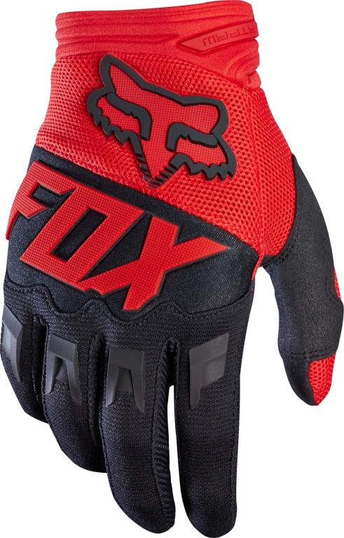 Rukavice FOX DIRTPAW RACE GLOVE, red