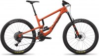 SANTA CRUZ NOMAD 4 C 27.5 S-KIT  2019, orange