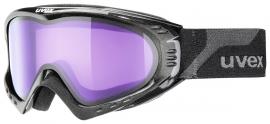 Lyžiarske okuliare UVEX F2 STIMU LENS, black metallic