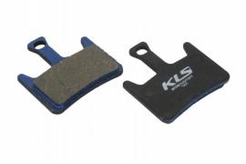 Brzdové platničky KLS D-07, organické (pár)