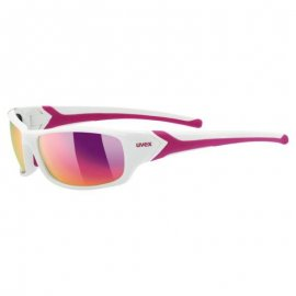 Okuliare UVEX SPORTSTYLE 211, white pink, S3