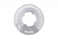 Plastový tanier pod kazetu, 4-zubý, 54/56mm
