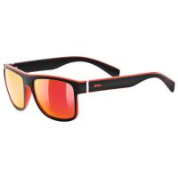 Slnečné okuliare UVEX LGL 21, black mat red
