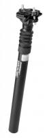 Odpružená sedlovka ZOOM 30,9 x 350 mm, hliník, čierna