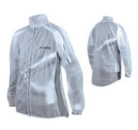 Pláštenka Force, suchý zips, číra, XL