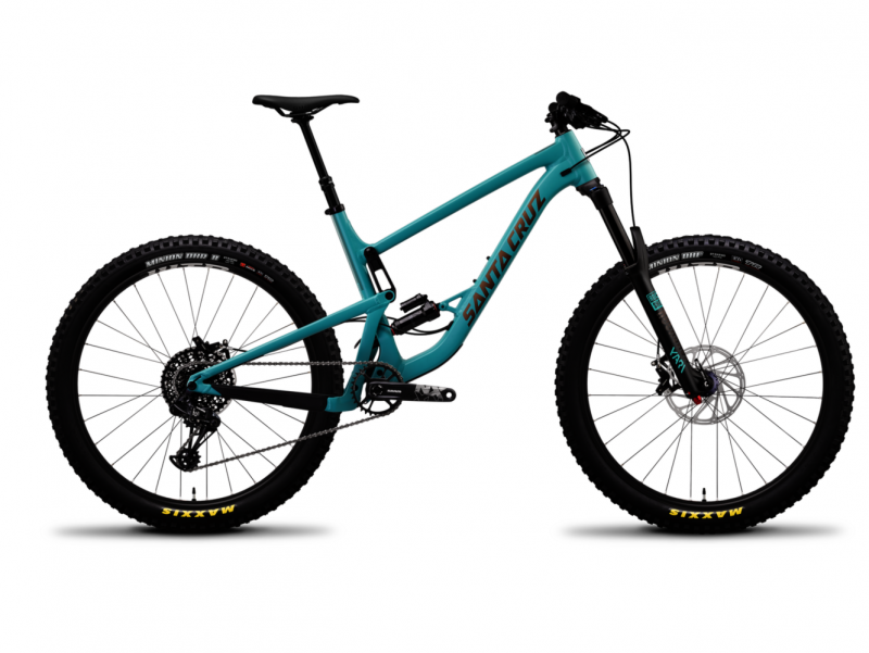 SANTA CRUZ BRONSON 3 AL R-KIT P 12G 27,5+ 2019, blue