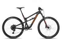 "Santa Cruz Hightower 1 C R 29"" 2019, matt carbon/orange"