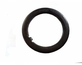Podložka hl.zloženia 25,4 mm čierna