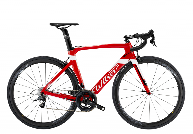 Wilier CENTO1AIR 2019, red/white glossy, S