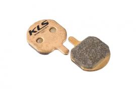 Brzdové platničky KLS D-08S, sintrované (pár)