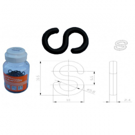 Stabilizátor bowdenu S ALLIGATOR LY-HPP06, plast, cena za 1 ks