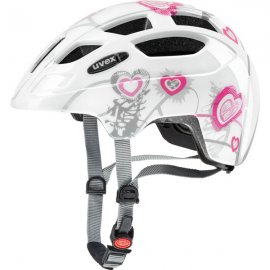UVEX FINALE JUNIOR, heart white pink
