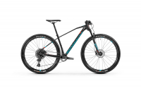 Mondraker Chrono Carbon 29 2020, carbon/light blue/flame red