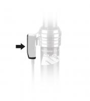 XLC kryt p. Remote objímku SP-X07 pre XLC Pro SP-T10 čierna